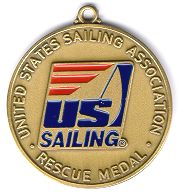 US Sailing Rescue Medal